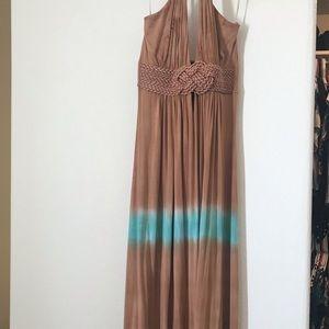 Sky maxi dress